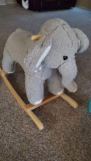 elephant. rocker it has music for Sale in Phoenix, AZ
