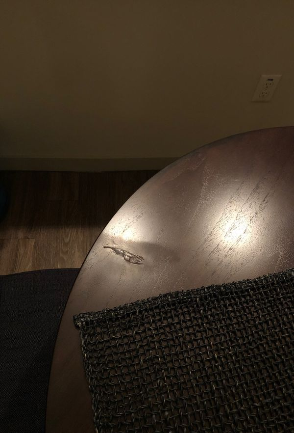 West Elm round dining room table for Sale in Phoenix, AZ - OfferUp