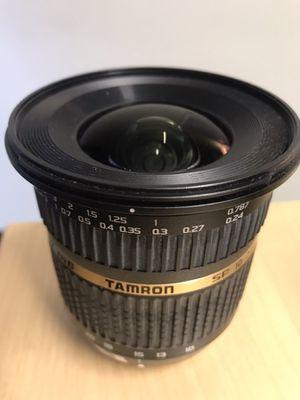 Tamron SP AF 10-24mm f/3.5-4.5 DI II Zoom Lens for Sale in Denver, CO