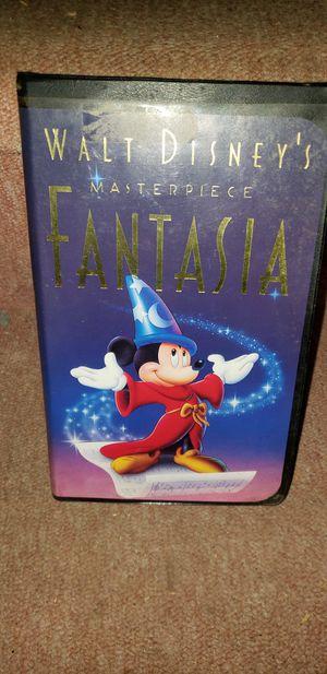 Disney Fantasia Movie VHS for Sale in Muskegon, MI