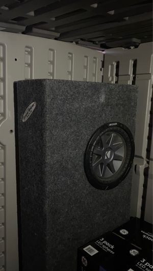 Subwoofer box for Sale in Delano, CA