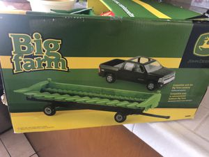 Tomy Big Farm Corn Head and Tractor with Chevy Pickup Truck for Sale in Bell Gardens, CA