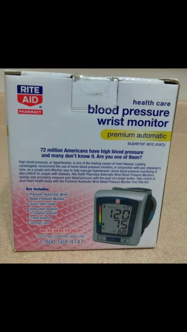 Blood Pressure Wrist Monitor for Sale in Bronx, NY - OfferUp