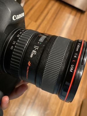 Canon 17-40mm L series lens for Sale in University Place, WA