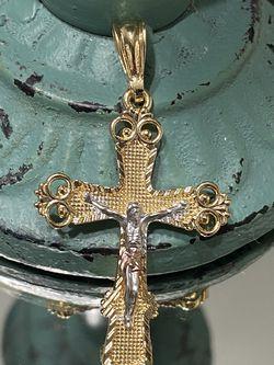Tricolor Jesus Cross Pendant for Sale in Nashville,  TN