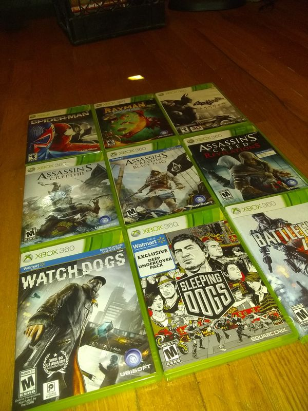 9 XBOX 360 games for kids and UP