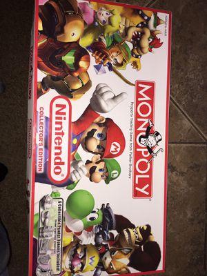 Monopoly Nintendo Collectors Edition for Sale in Pickerington, OH