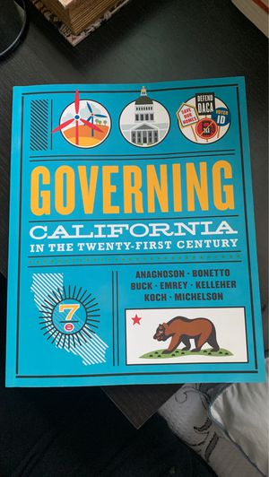 Governing California in the Twenty-First Century for Sale in Fullerton, CA
