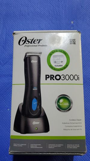 Oster PRO3000i Cordless Clipper Dog Pet Grooming for Sale in Hawthorne, CA
