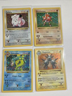 Rare Shadowless Holographic Pokemon Cards for Sale in Covington,  WA