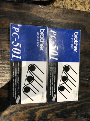 New PC-501 BROTHER FAX CARTRIDGES for Sale in Chesapeake, VA