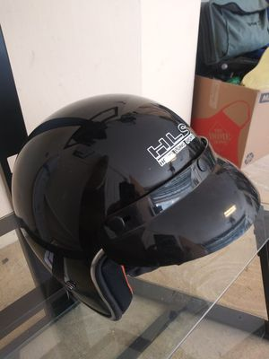 Motorcycle scooter black helmets extra large for Sale in St. Petersburg, FL