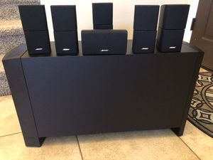 Bose acoustimass 16 , 6.1 Speakers for Sale in Phoenix, AZ