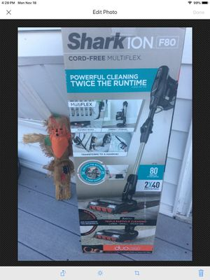 NEW - Shark ION F80 Lightweight Cordless Stick Vacuum MultiFLEX DuoClean for Sale in East Hartford, CT