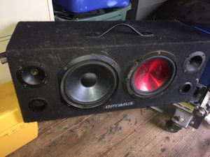 Optimus speakers for Sale in Kent, WA
