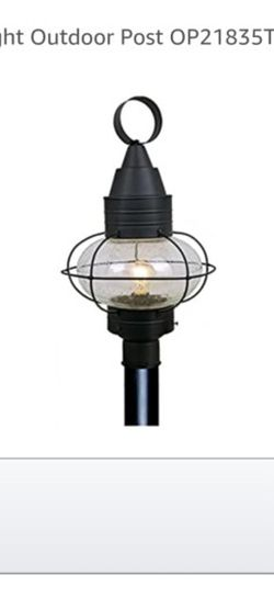 Selling 3 Exterior Lights Plus Posts for Sale in Berlin,  MA