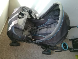 Baby stroller trend sit and stand double for Sale in Alexandria, VA