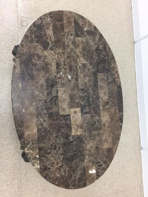Marble and metal coffee table for Sale in North Andover, MA