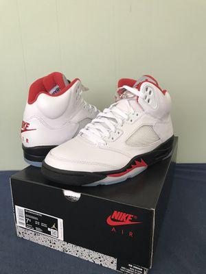 Jordan 5 fire red for Sale in Phoenix, AZ