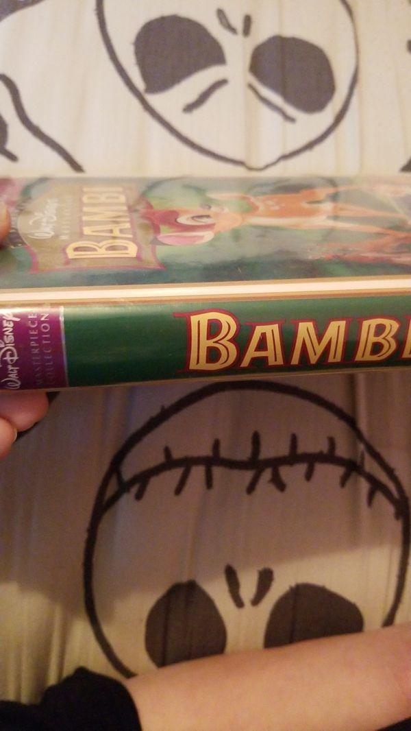 Bambi 55th anniversary Disney Masterpiece VHS