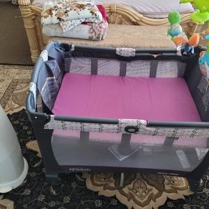 Crib And Diaper Dispenser for Sale in Rancho Cucamonga, CA