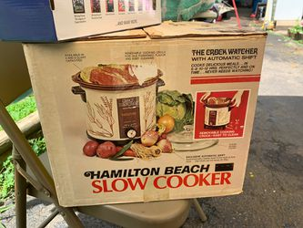 Vintage Hamilton Beach Slow Cooker - Crock Watcher for Sale in Tysons,  VA