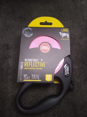 16ft Great Choice reflective retracying leash for Sale in North Las Vegas, NV