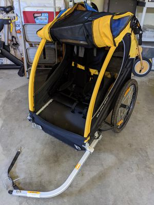Burley double bike trailer for Sale in Seattle, WA