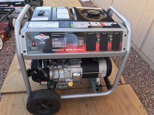 Briggs & Stratton 5500-Watt Recoil Start Gasoline Powered Portable Generator with OHV Engine for Sale in Phoenix, AZ