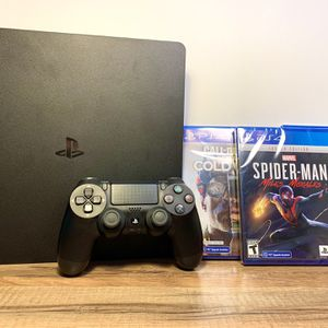 Sony PlayStation 4 Slim 1TB Console +Controller +3 Games Bundle +More for Sale in Austin, TX