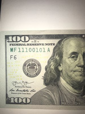 100 Dollar Bill for sale | Only 3 left at -65%