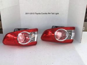 2011-2013 Toyota Corolla Passenger Side Tail Light for Sale in Eastvale, CA