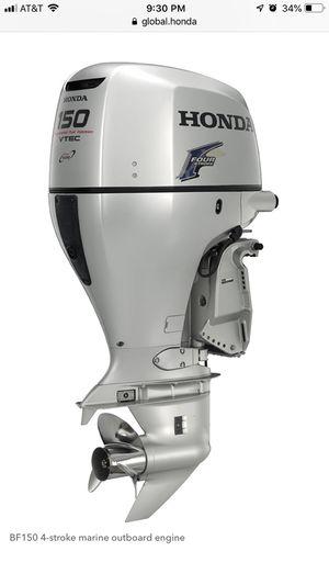 2008 Honda bf150 motor for Sale in Tampa, FL