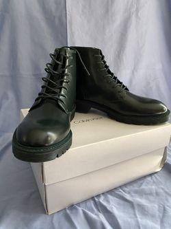 Calvin Klein Leather Combat Boots for Sale in Reston,  VA