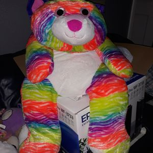 Big Rainbow Teddy Bear Super cute for Sale in San Antonio, TX