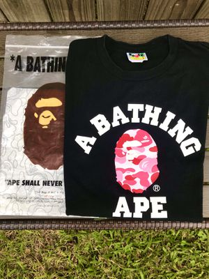 Bape ABC College Tee for Sale in Friendswood, TX