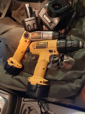 Dewalt 926 and 920 cordless drill and screwdriver for Sale in Traverse City, MI