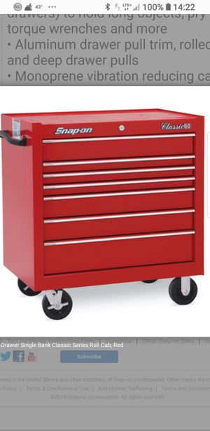 Brand New In Box Snap On Tool Box for Sale in Detroit, MI