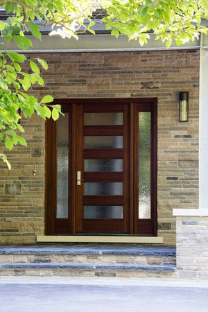 Custom Contemporary Doors Fiberglass and Solid Wood for Sale in San Diego, CA