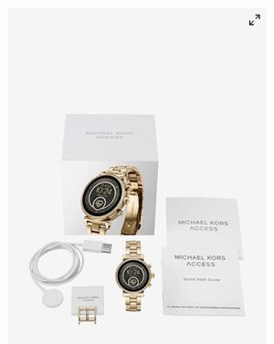 1 Michael Kors watch brand new with box for Sale in Highland Park, NJ
