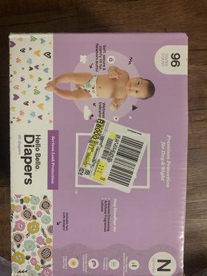 Hello Bello Newborn Diapers for Sale in Dallas, TX