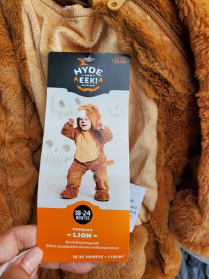 Toddler Lion Halloween Costume 18-24 months for Sale in Sugar Hill, GA