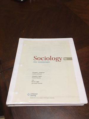sociology 9e the essentials for Sale in Hialeah, FL
