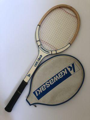 "Kawasaki Vintage Tennis Racket Light 3, 4 3/8"" Grip for Sale in Schaumburg, IL"