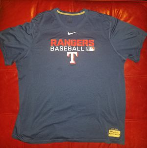 NIKE / MLB / TEXAS RANGERS / Dri-Fit / Adult TEE SHIRT / XL / baseball for Sale in Lilburn, GA