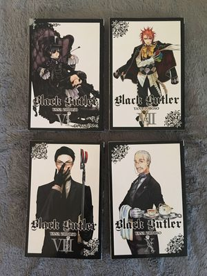 Black Butler Manga volumes 6, 7, 8 and 10 for Sale in Manchester, CT