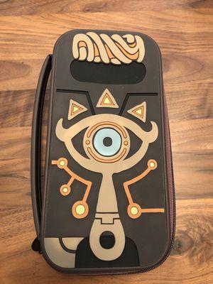 Zelda Breath of the Wild Sheikah Slate Travel Case for Nintendo Switch for Sale in Marietta, GA