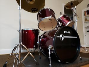 TAMA Imperial Star 5- piece drumset with Meinl cymbals and Tama hardware for Sale in Norfolk, VA