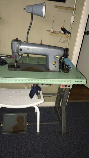 Singer Flat Bed Industrial Sewing Machine for Sale in Boston, MA