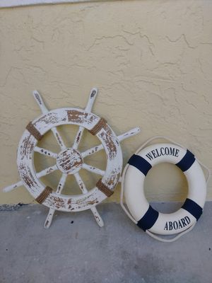 Set of 2 Nautical Hanging items for Sale in Fort Myers, FL